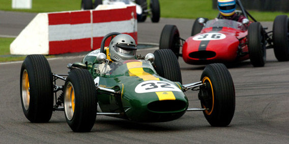 4-5 Finish for Classic Team Lotus at Donington