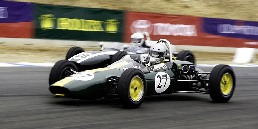 Historic Formula Junior Turnout at Monterey