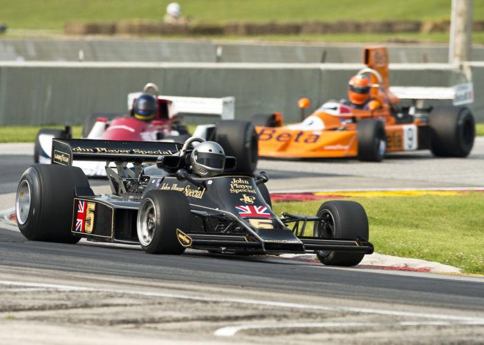 Checkered Past Racing: 1976 Lotus 77 at Blackhawk